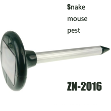 Zolition 2015 Hot selling outdoor environmental solar mole pest repeller ZN-2016