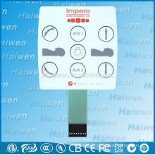 Изготовленная на заказ панель переключателя мембраны ПЭТ высокого качества С 3M 467