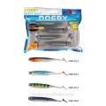 NOEBY sonde de pêche à la basse personnalisée appâts en caoutchouc holographique couleur 3D