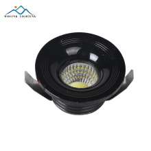 COB dimmable surface mounted trimless led downlight