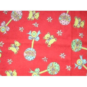 Printing Flannel Fabric One Side Brushed 150gsm