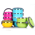 Edelstahl Thermos Lunch Box 1-4 Tier
