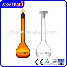 JOAN LAB Botella volumétrica de frasco de vidrio Boro3.3 para uso en laboratorio
