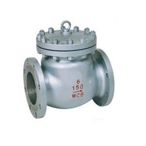 Cast steel 6 Inch class 150 check valve