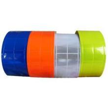 5cm Luminous PVC Belt Safety Warning Lattice Clear Reflective Tape