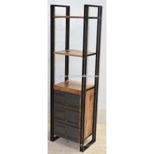 Étagère d'armoires à tiroirs industrielles urbaines