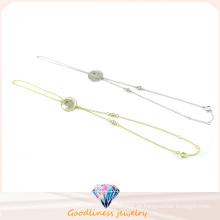 Design simples para jóias de moda pulseira de pedra CZ (BT6594)