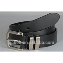 2016 new casual split leather and full grain leather fashion belt