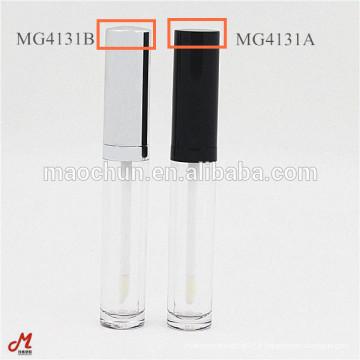Emballage rond en conteneur de tube à lèvres liquide