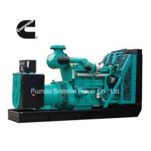 50Hz de espera gerador diesel de 550 kVA com o motor CUMMINS Kta19-G3