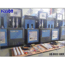 Hb-M800 de máquina de molde do sopro da garrafa Pet Semi Auto