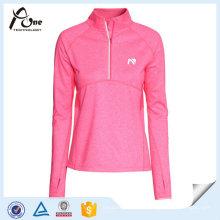 Высокое качество женщин рубашки дышащая спортивная одежда