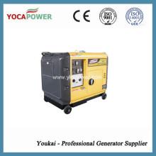 Мощный бесшумный дизельный генератор мощностью 5 кВт