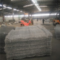 PVC coated stone cage hexagonal gabion box