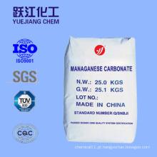 De alta qualidade de carbonato de manganês da China Fabricante