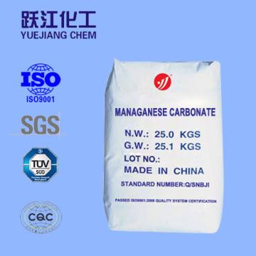 Высокочистый карбонат марганца для феррита с SGS и ISO9001