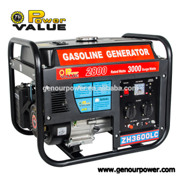 China Supplier 2kw 2.5kw 2.8kw Small Electric Generator For Sale