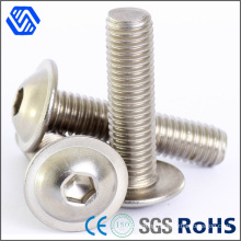 M10X1.25 Countersunk Head Bolt Hex Socket Pan Head Stainless Steel Bolt