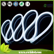 24V branco superbrilho SMD LED neon flex