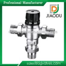 Yuhuan Hersteller niedrigen Preis angepasst geschmiedet cw617n Messing Wasser Thermostat-Mischventil