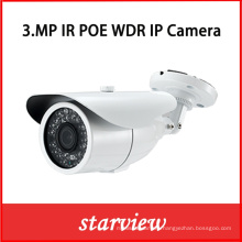 3.0MP WDR Poe IP Water-Proof IR Bullet Camera