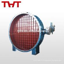 Motorizd grill alimentation électrique hvac conduit amortisseur d'air de protection / vanne d'air en plastique