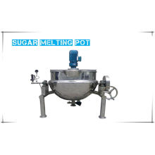 Factory Different Molds  Continuous Sugar Melting Pot