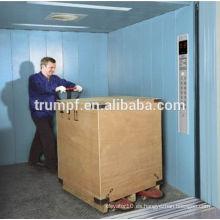 Elevador de carga de almacén