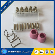 AG60 SG55 plasma nozzle electrode and shield