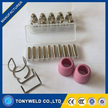 AG60 SG55 плазменной сопла электрода и щит