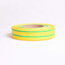 Factory Direct Sales Yellow Green Striped Heat Shrink Tube