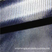 Tissé en sergé Tissu à carreaux Plain Check Oxford Jacquard extérieur 35% Polyester 65% Tissu en mousse de nylon (H026B)