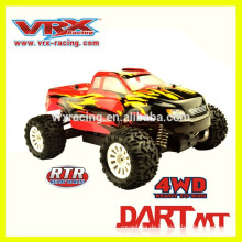 Einzigartiges Design Maßstab 1/18 4WD Brushless Monstertruck