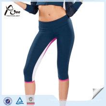 A ioga feita sob encomenda colorida arfa leggings feitos sob encomenda da ioga de Supplex para mulheres