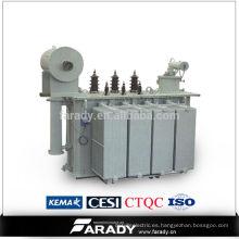 Uso de energía 3 fase de conversión de energía eléctrica 1.5mva 20kv transformador