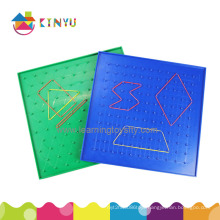Plastic Geoboard for Math (K019)