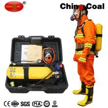 Respirador del aire del aparato de respiración del aire de la presión positiva para el uso de la explotación minera