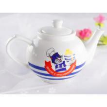 Pot à thé en porcelaine personnalisé