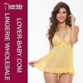 Rendas top romântico sleepwear para as mulheres (l27879-3)