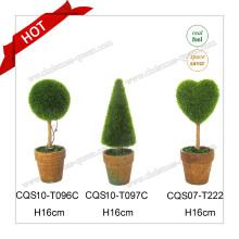 10-22 см Пластиковые мини-искусственные деревья Banyan