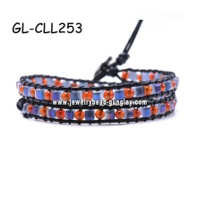 2013 fashion bracelet leather bracelets for men