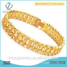 2016 pulseira banhado a ouro do ouro do ouro do ano novo para homens