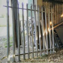 безопасности гальванизированная панель загородка palisade 7' высокий от 6 футов в ширину
