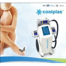 Corpo que dá forma ao vácuo Coolsculpting Cryolipolysis refrigerando