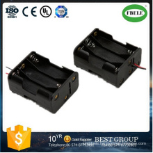 9V Battery with Switch 3AA Battery Holder Waterproof Battery
