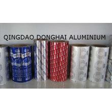 Feuillet en aluminium pour paquet flexible