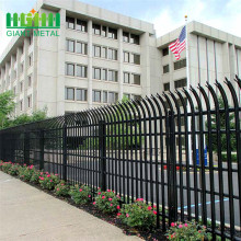 factory price steel palisade security fencing for sale