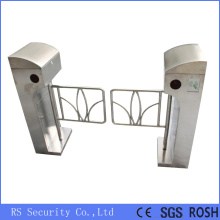 OEM/ODM for Stainless Steel Swing Barrier Automatic Supermarket Turnstiles Smart Swing Barrier Gate supply to Spain Importers