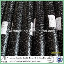 decorative hexagonal plastic mesh (factory)