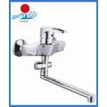 Brass Body Wall-Mounted Kitchen Sink Mixer Faucet (ZR20903-B)